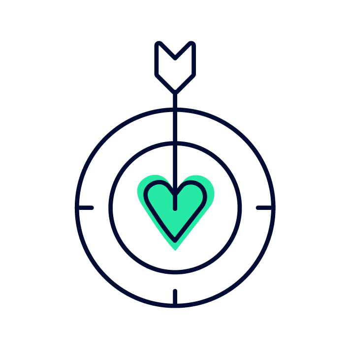 Company Value - Get To The Heart Icon